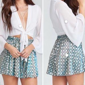 Show Me Your Mumu stars shorts.